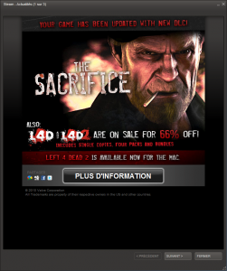 The Sacrifice Ad